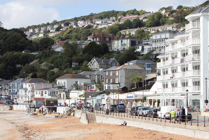 Visit Ventnor a popular place on the island.