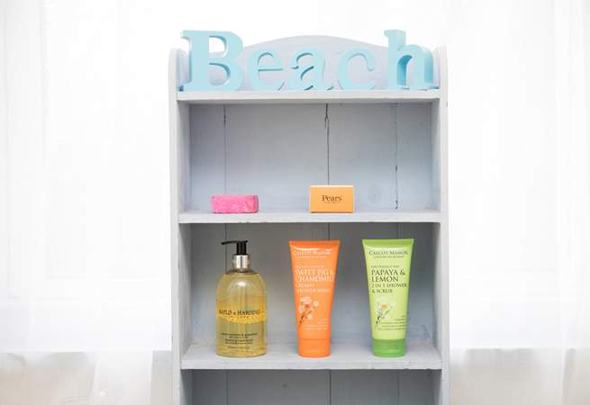 Freshen up after a day at the beach.