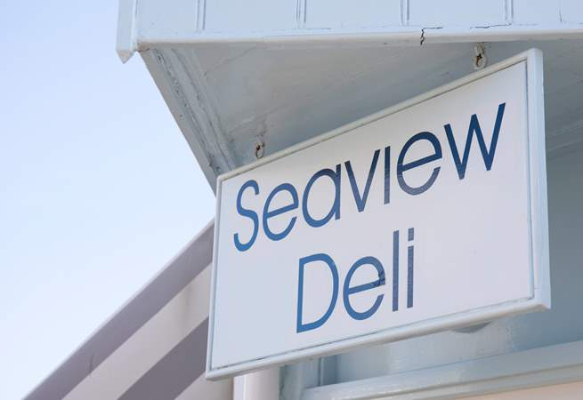 Just two minutes away is Seaview Deli where you can buy freshly prepared sandwiches, local deli products and Minghella ice cream.