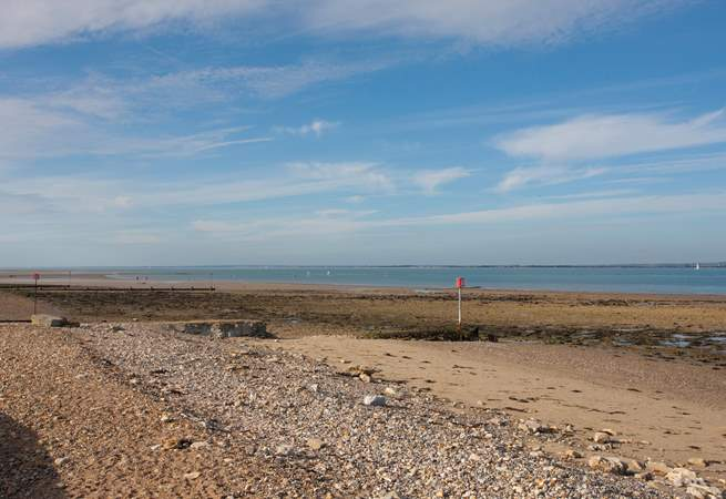 Take a beautiful scenic stroll along the seafront to the nearby town of Ryde.