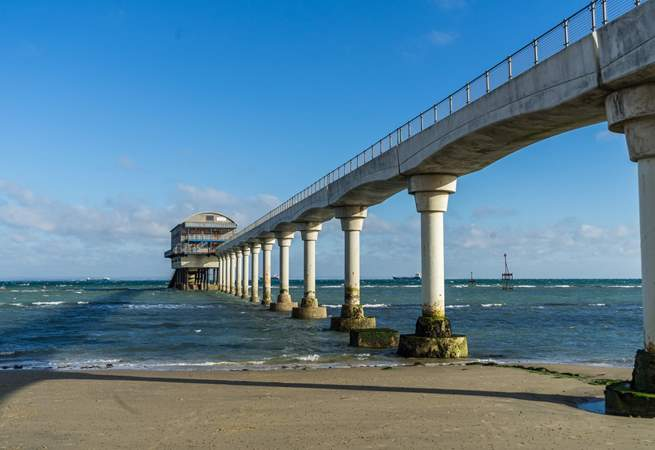 Spend the afternoon on the beach with views of Bembridge lifeboat station.