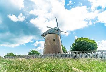 A picture moment to add to your holiday photos is Bembridge Windmill.