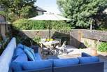 The decked area to the back of the property is perfect for relaxing and entertaining.
