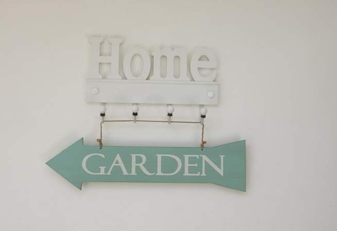 The garden is this way.