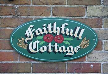 Welcome to Faithfull Cottage.