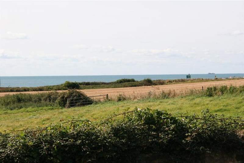 View of the English Channel from Fernfield.