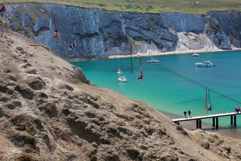 The famous Needles is a short drive from Brook.