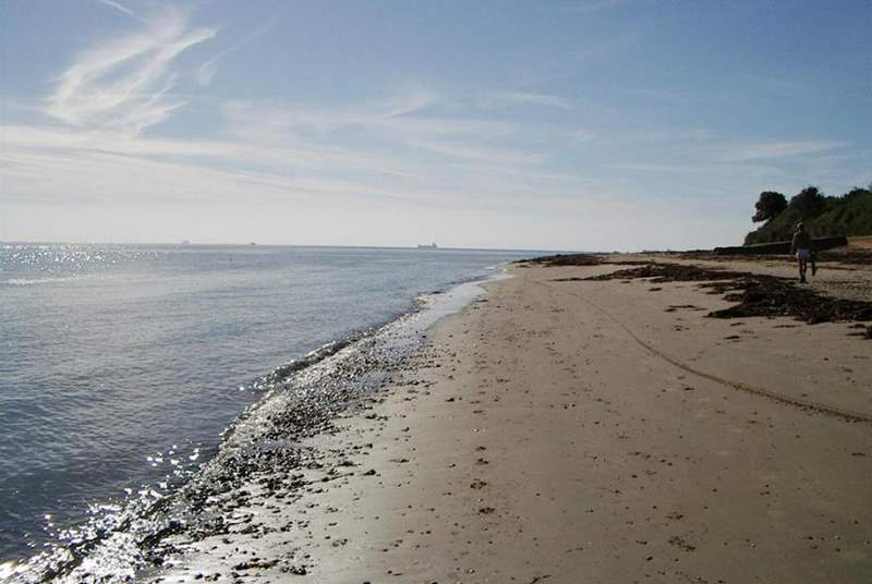 Bembridge beach.