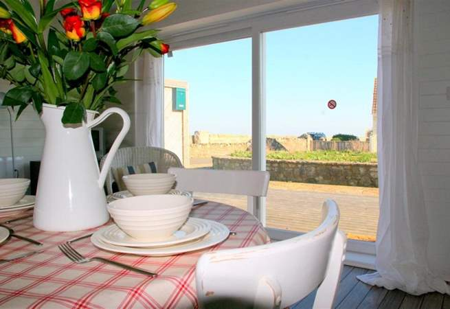 The views from your breakfast table are certainly inviting.
