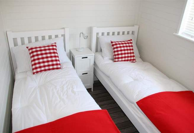 The twin room is equally pleasant and comfortable.