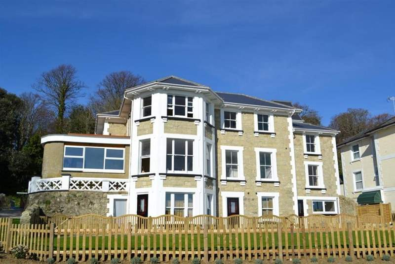 Shanklin Villa apartments.