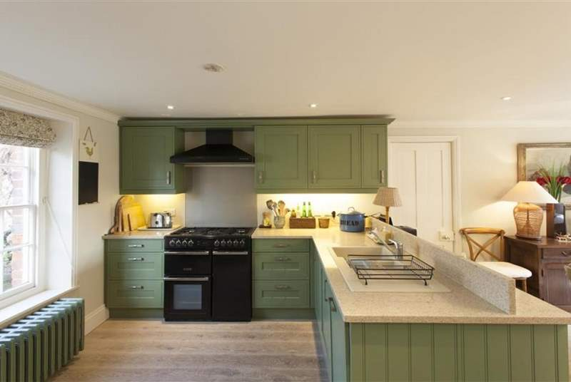 The kitchen is the perfect place to socialise whilst cooking.