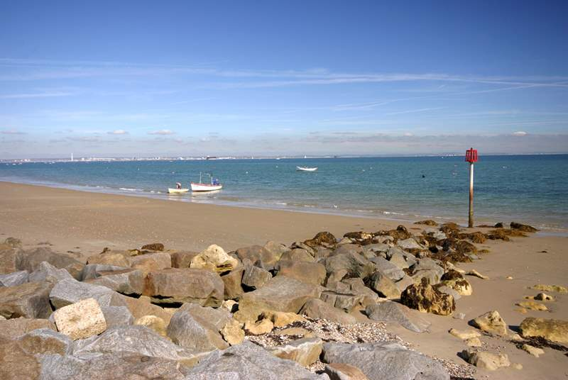 From Seaview you can walk through to Ryde along the pavement or beach if the tides right!