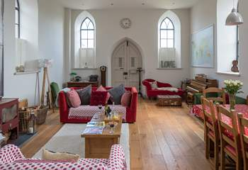 This amazing renovation and design project has transformed the chapel into a contemporary family home.