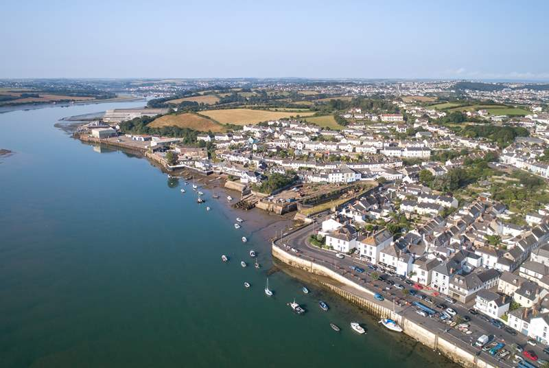 Appledore is over the estuary from Westward Ho!