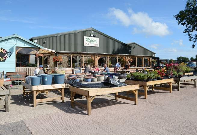 Millers farm shop at Kilmington is a short drive and has lots of delicious local produce, barbecue supplies  and holiday treats.