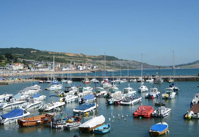 Nearby Lyme Regis has fossils, a sandy beach, summer water sports, fishing trips, great restaurants, cafes, pubs and ice cream.