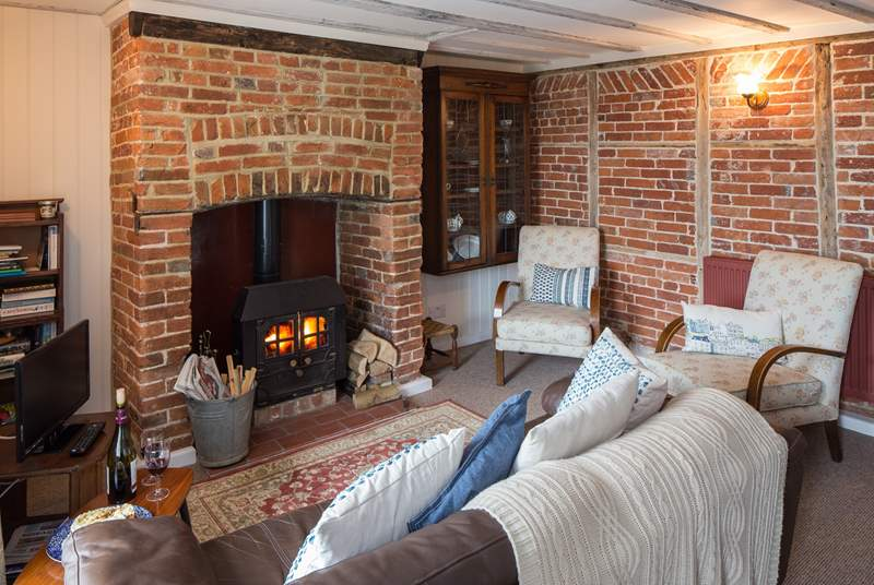 For the cooler evenings, light the fire and cosy up on the sofa with a good book or a nice film.