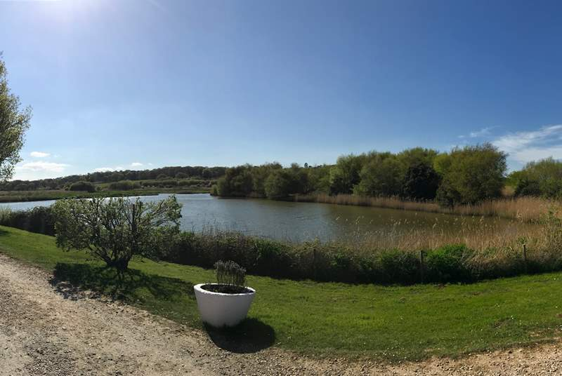 From your decking, look out to this stunning view