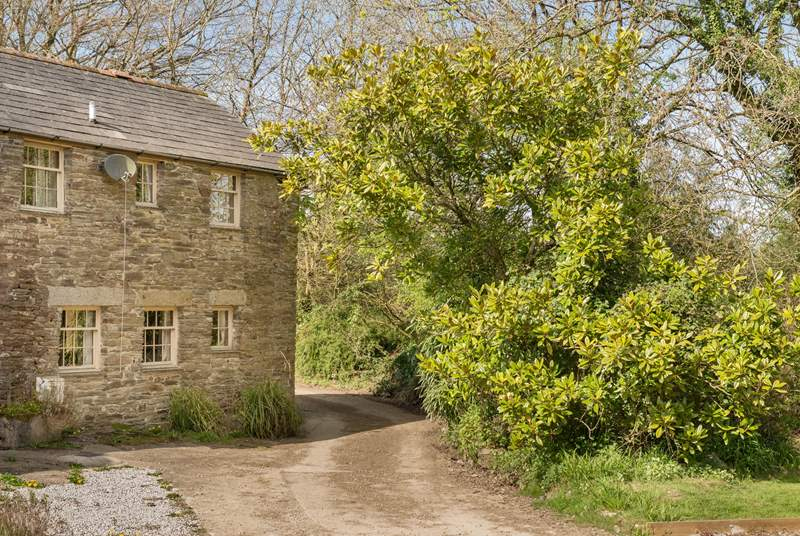 Winwalloe Cottage is semi-detached from the Owners' home.