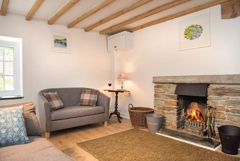 The cottage sitting-room.
