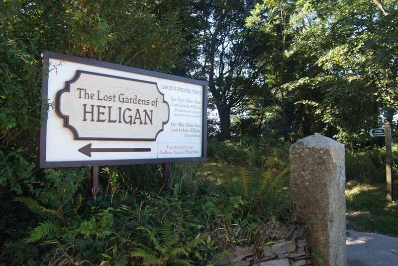 Heligan Gardens is just a couple of miles away.