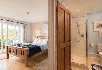 The shower-room is en suite to the bedroom.