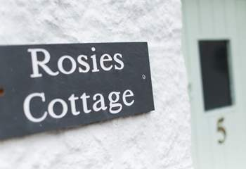Welcome to Rosie's Cottage.