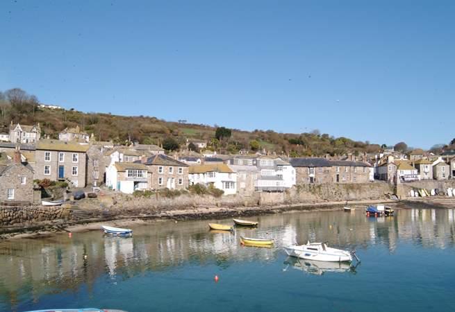 Mousehole Harbour.