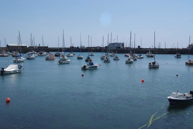 Penzance Harbour.