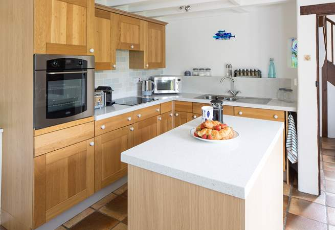 Well-equipped kitchen. Perfect for cooking that special meal.