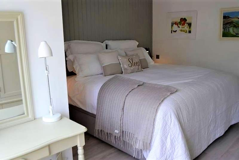 A sumptuous bed for a great night's sleep.