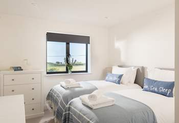 Bedroom 2 can be made up as a 6ft double bed or as 3ft twin beds on request.
