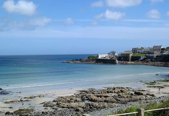 Coverack bay is a short drive away or an eight mile walk. Enjoy a drink/bite to eat before heading back along the coast path.