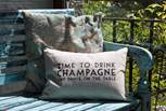 Time to drink champagne in the sunshine, you are on holiday after all!