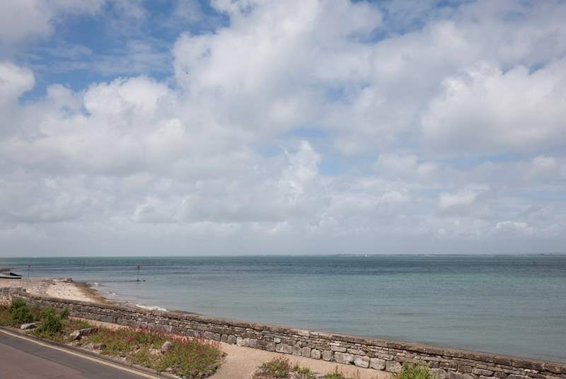 Lovely walks along the seafront to the nearby town of Ryde is a must do for any keen walker.