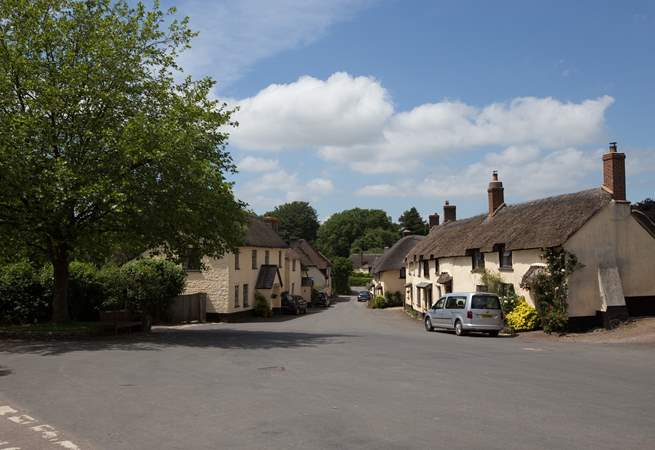 Broadhembury is a really beautiful and totally unspoilt village. There is such a friendly feel here and visitors are welcomed warmly.