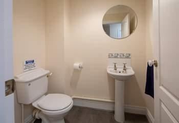Ground-floor WC.