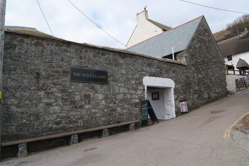 The Cellars Restaurant at Cadgwith.