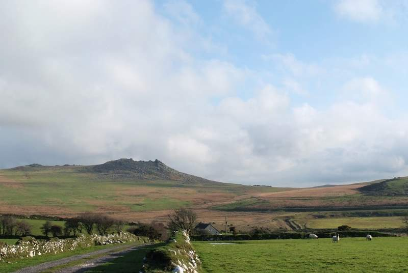 Vast Bodmin Moor offers a complete contrast, with great walking on offer.