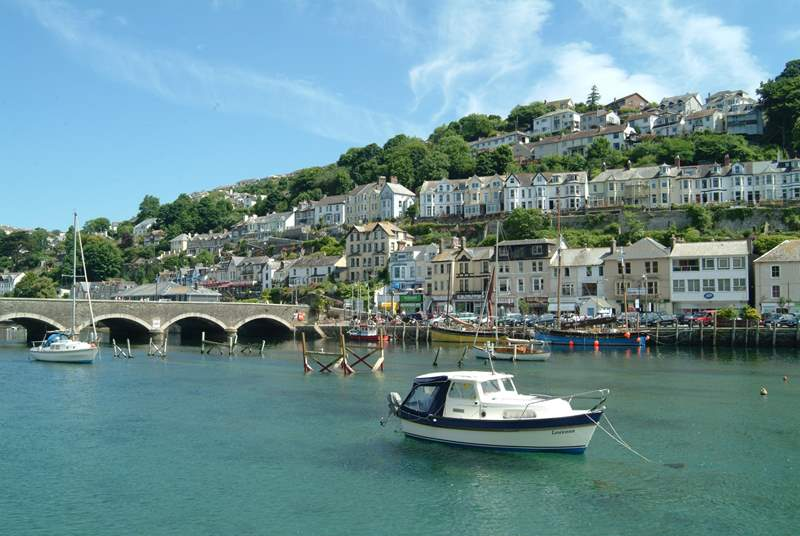 Looe hosts a wonderful music and literature festival in the autumn.