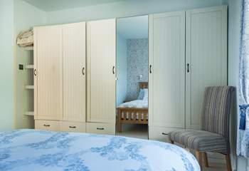 Plenty of storage in Bedroom 3.