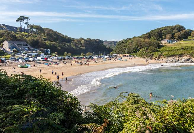 Swanpool Beach, Falmouth has plenty of water sports on offer.