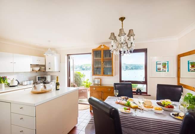 A wonderful kitchen to work in..