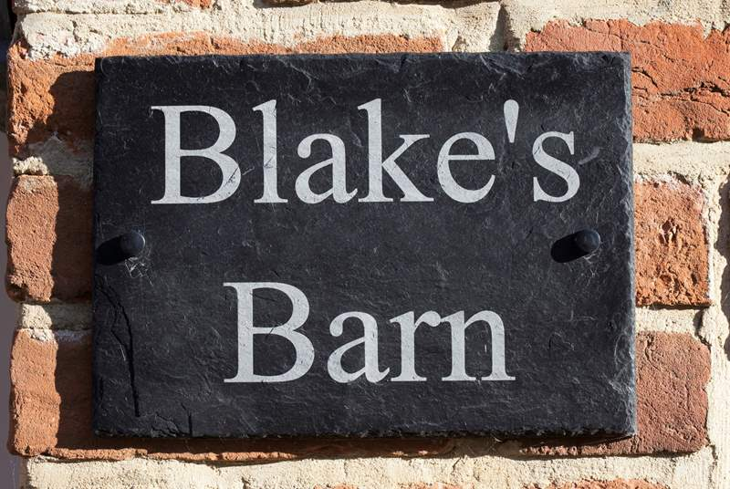 Welcome to Blake's Barn.
