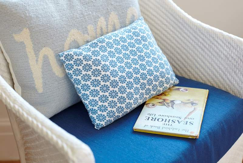 Snuggle up with a good book and a blanket