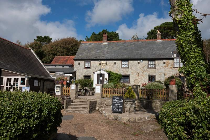 Take a walk to the local pub, where you can sample local ales and enjoy fresh food.