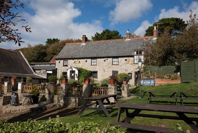 Take a walk to the local pub, The Buddle Inn.