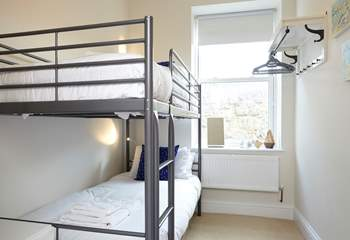 The bunk-room is ideal for children, or adults after an adventure.