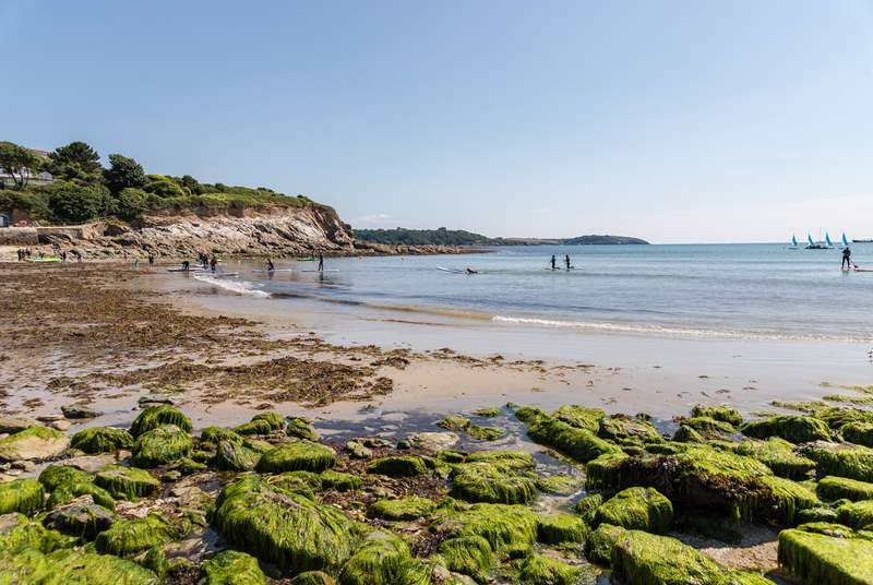 Falmouth is a lovely maritime town with three sandy beaches.